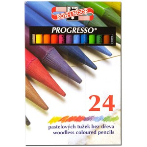 Seturi creioane colorate Progresso