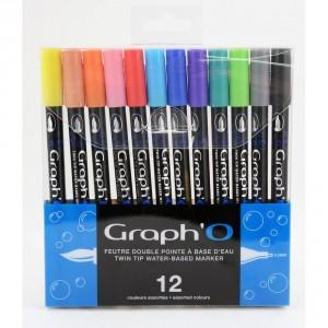 Set carioci GraphO - 12 Essentielles