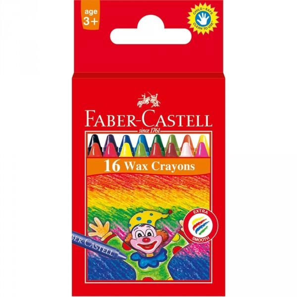 Set 16 creioane cerate Faber-Castell