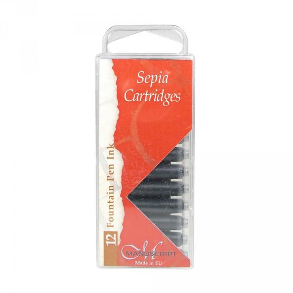 Set 12 rezerve cu cerneala pt stilouri