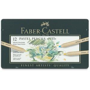 Set creioane colorate Pitt Pastel