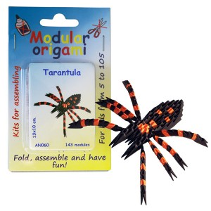 """Set origami """"Tarantula"""""""