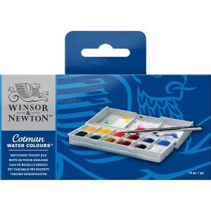 Set Acuarele Winsor & Newton Cotman Sketcher's