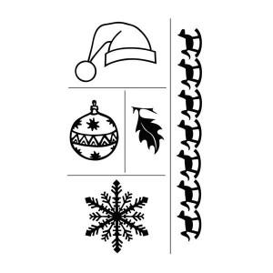 Set stampile decorative Craciun 2
