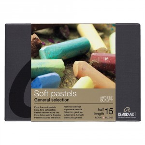 Set pastel uscat Rembrandt General Selection 15.5