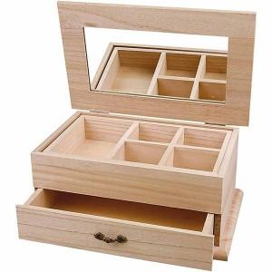 Cutie din lemn pentru bijuterii 57638/1