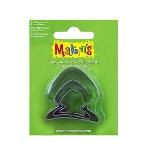 Set 3 forme modelaj Makin's Peste