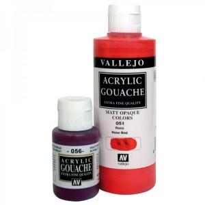 Vallejo Acrylic Gouache acrilice opace