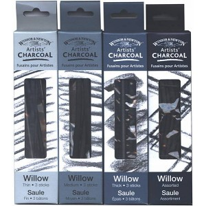 Carbune natural pt. desen Winsor & Newton