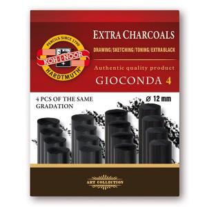Set 4 carbuni artificiali Gioconda Ø12 mm
