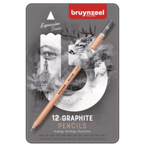 Seturi creioane Graphite Expression Drawing 12 creioane