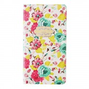 Carnet schite A7 70gr 80 file - Floral