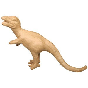 Forme papier mache - Dino