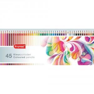 Set creioane colorate Bruynzeel Colourful 45
