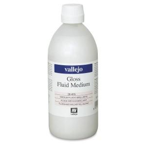 Mediu acrilic Vallejo Fluid