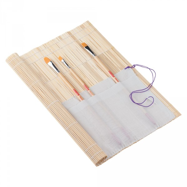 Etui pensule din bambus Art Creation