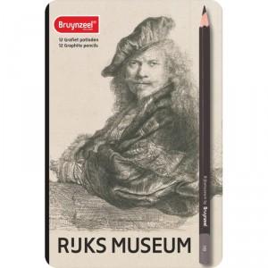 Set 12 creioane Bruynzeel Ruks Musem