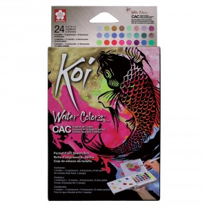 Set acuarele Koi Sketch Box Creative