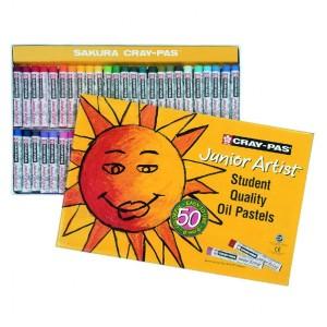 Seturi pastel gras Cray Pas Junior Artist 50