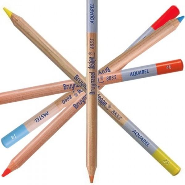 Creioane Bruynzeel Design Watercolor Pencil