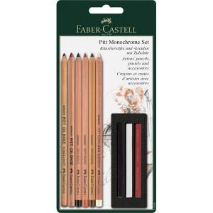 Set creioane Faber Castell Pitt Monochrome