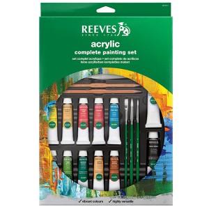 Set culori acrilice Reeves Complete Set