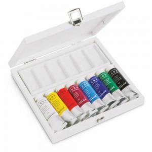 Set 8 culori ulei Sennelier Etude