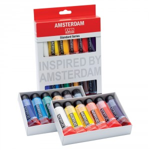 Set acrilice Amsterdam 20 ml