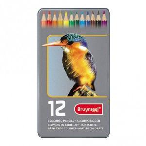 Set 12 creioane colorate Bruynzeel Color Pencile Bird