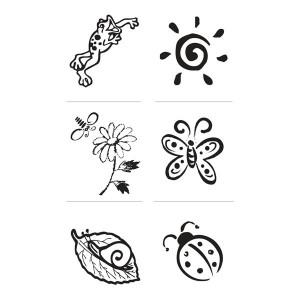 Set stampile decorative - vara