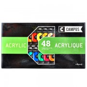 Set 48 culori acrilice campus 21 ml.