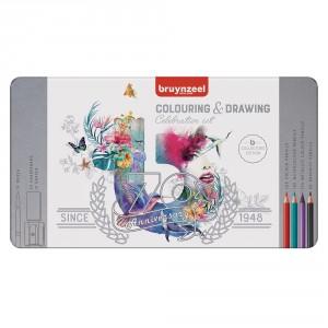 Set creioane colorate Bruynzeel Pencil Celebration 70