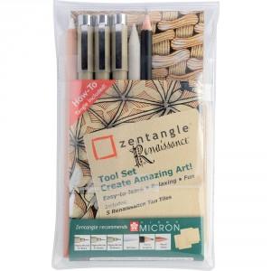 Set instrumente de desen Sakura Zentangle Renaissance