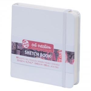 Bloc de desen Art Creation Sketch Book White
