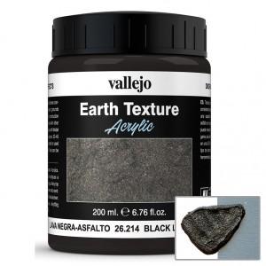 Pasta acrilica Black Lava Asphalt