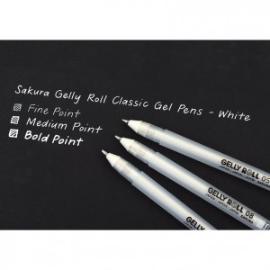 Pix Sakura Gelly Roll Basic - White