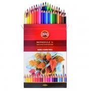 Set 36 creioane colorate Koh I Noor Mondeluz