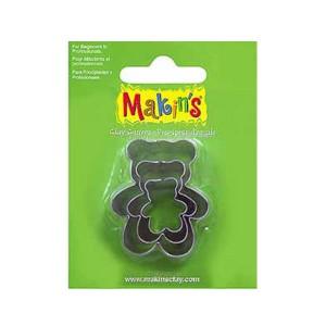 Set 3 forme de modelaj Makin's Ursuleti