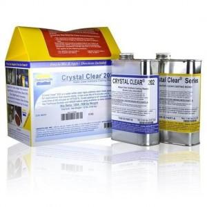 Rasina poliuretanica transparenta CRYSTAL CLEAR 202