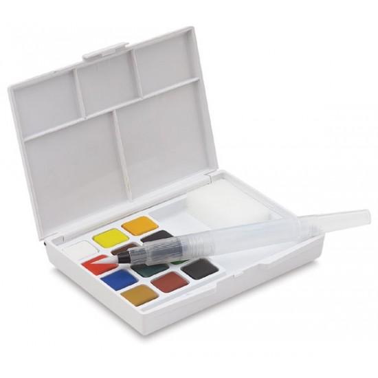 Set acuarele Sakura Koi Watercolor Sketchbox 12 culori
