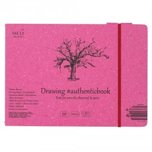 Caiet de desen #authenticbook Drawing 32x120gr 245x176