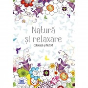 Carte de colorat - Natura ZEN