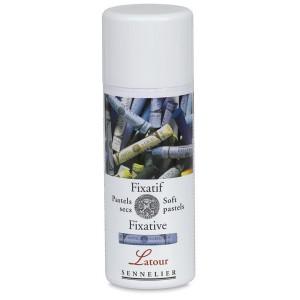 Fixativ spray Latour pt. pastel uscat