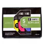 Set 5 culori acrilice campus 100 ml.