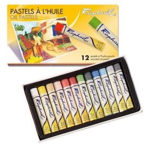 Seturi cu 12 pasteluri grase Raphael