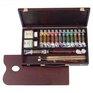 Set culori ulei Rembrandt Box Professional