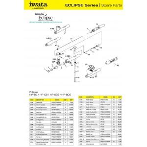 Accesorii aerografe Iwata Eclipse
