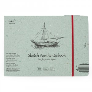 Caiet de schite #authenticbook White 32x90gr 245x176