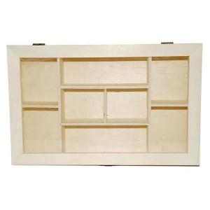 Cutie din lemn cu 8 compartimente 355176