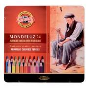 Seturi creioane colorate acuarelabile Mondeluz 12